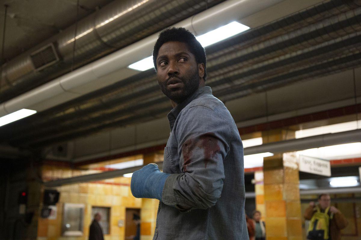 John David Washington as Beckett in Beckett (2021)