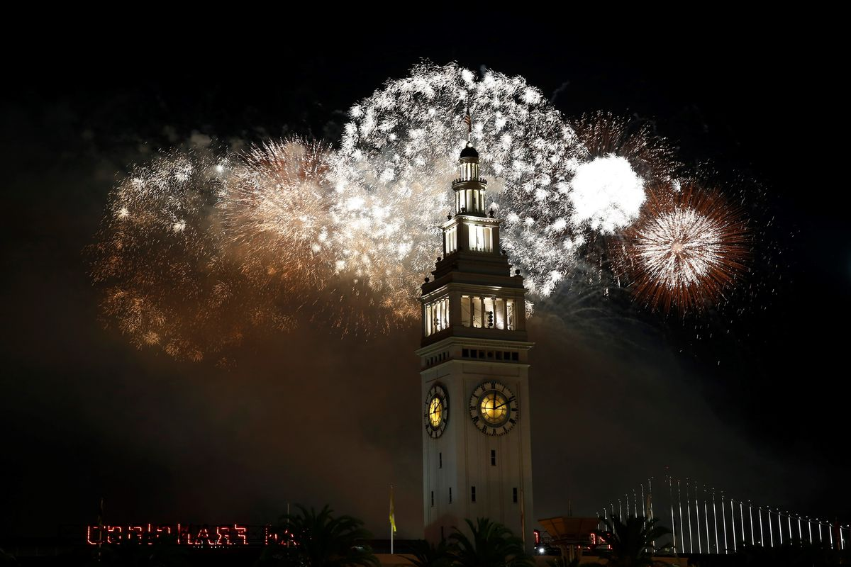 New Year celebrations in San Francisco