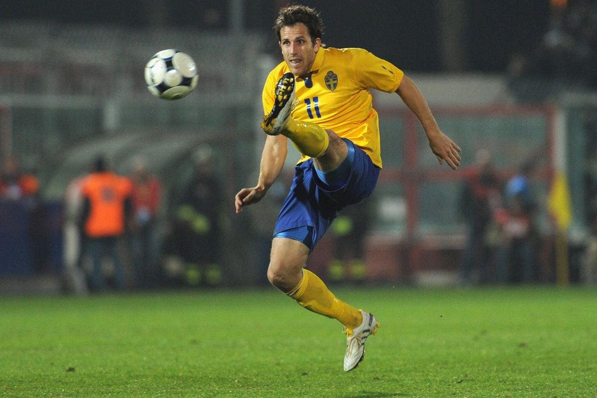 Toby in action for his national team
