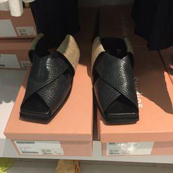 Acne Arbor sandal, $240 (were $400)