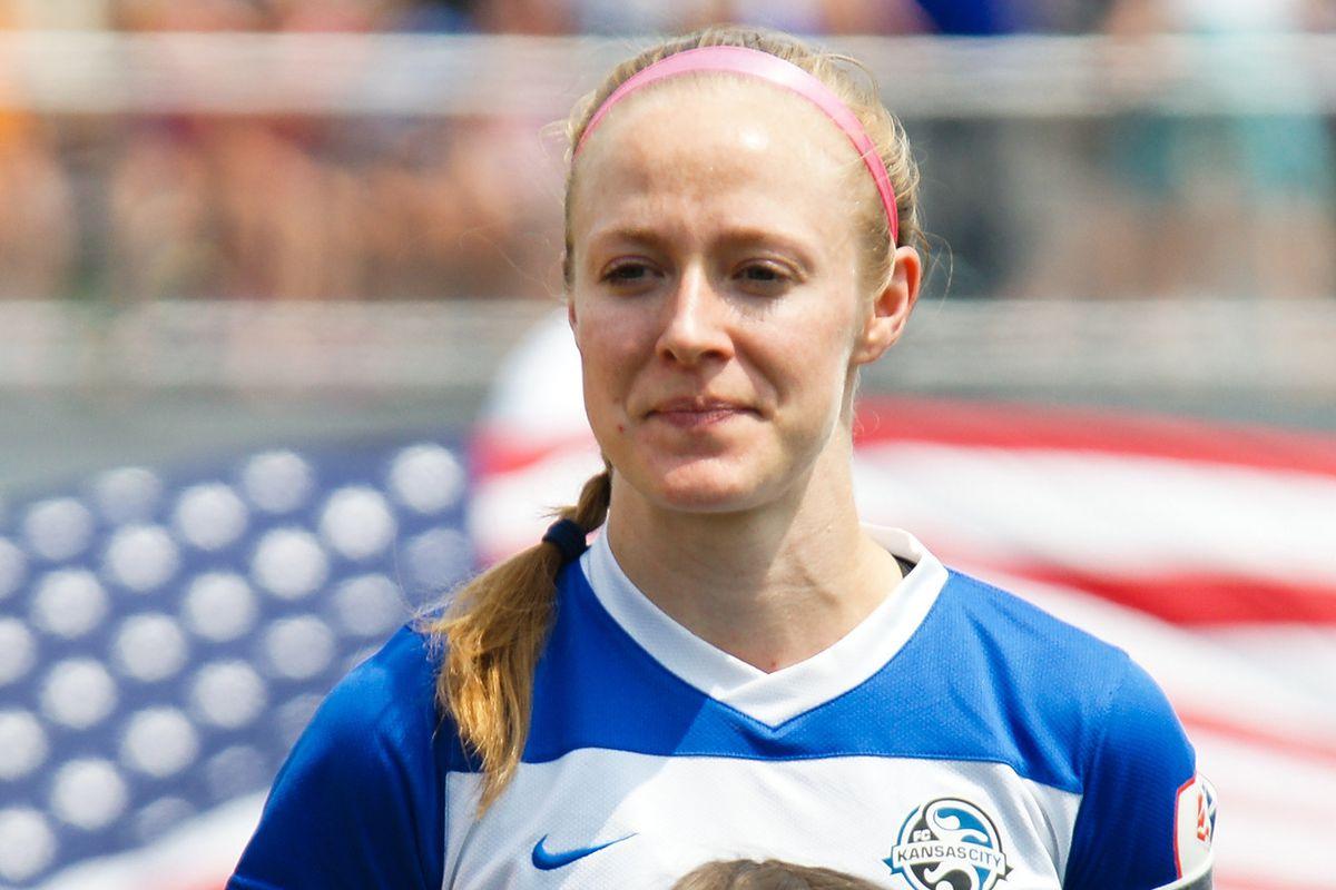 FCKC Captain Becky Sauerbrunn