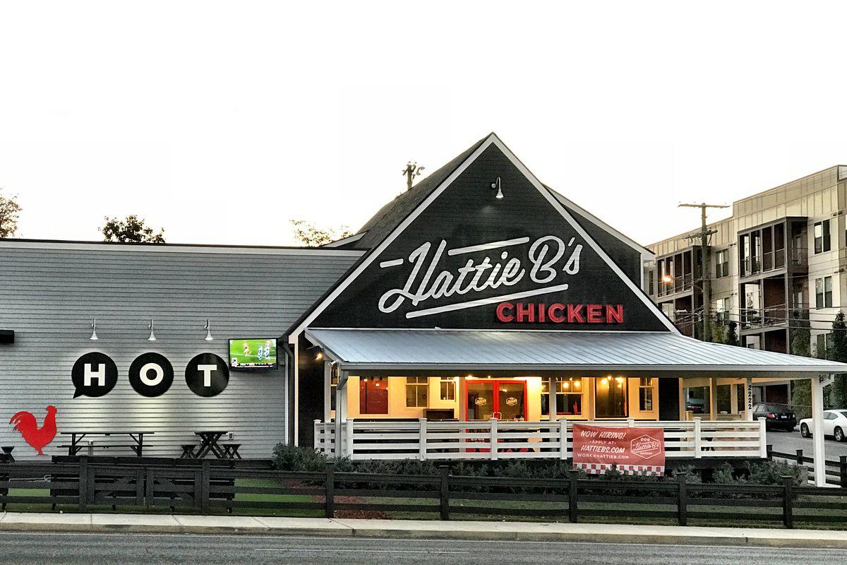 Hattie B's Hot Chicken Opens Melrose Location Today ...