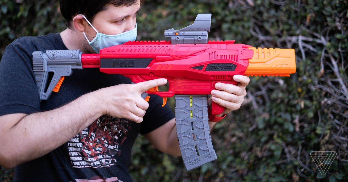 Dart Zone Pro MK-3 Preview: Probably the Best Foam Blaster Nerf Never Made