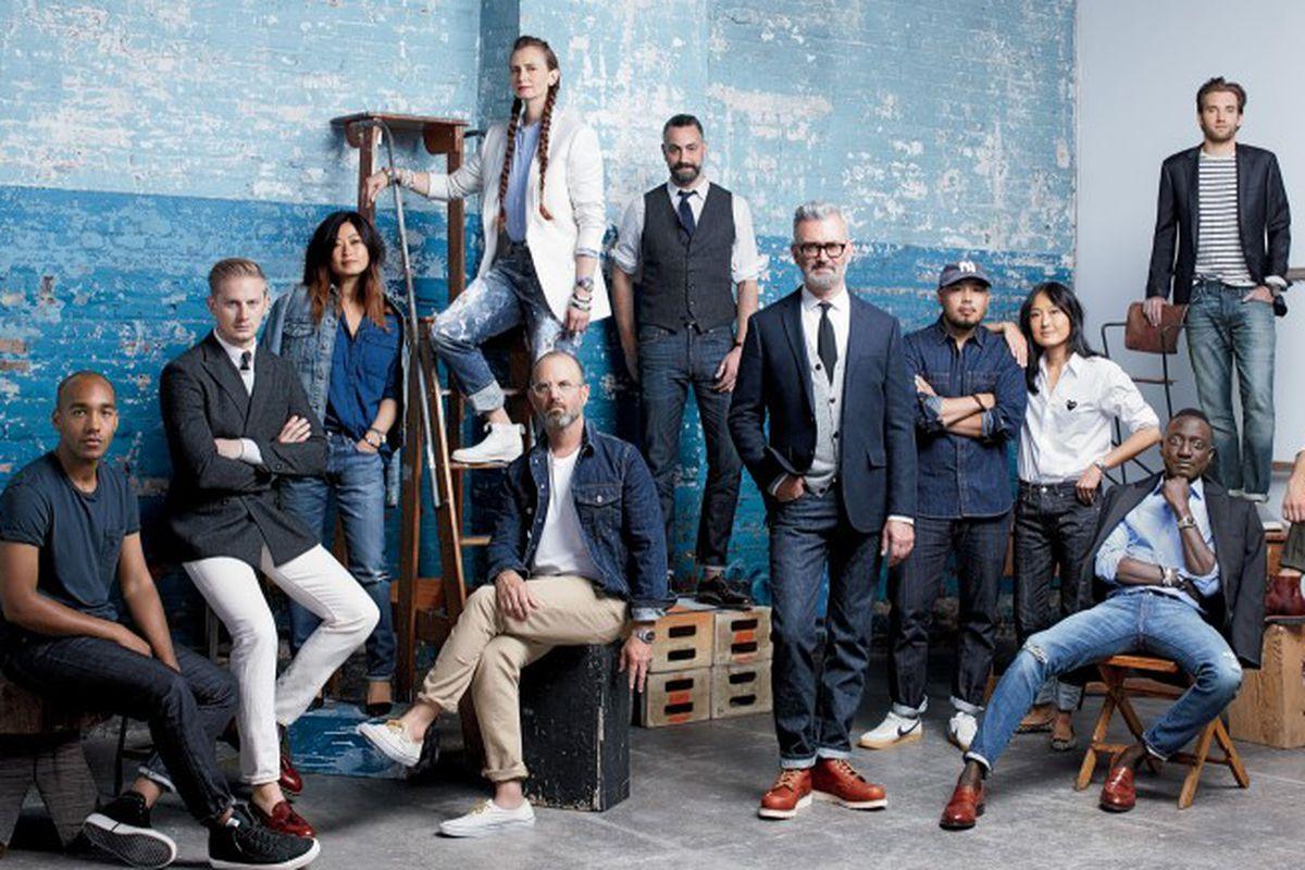 The team behind J.Crew's new men's denim