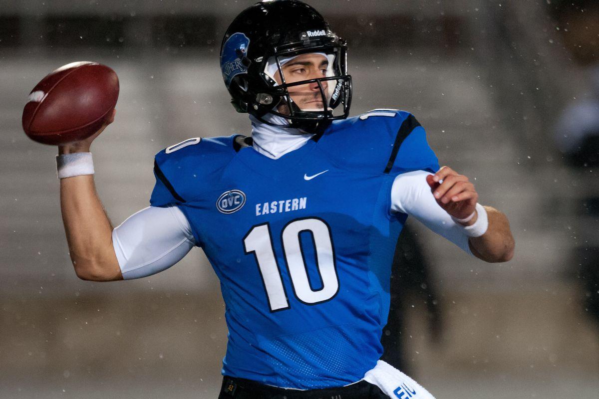 Eastern Illinois quarterback Jimmy Garoppolo