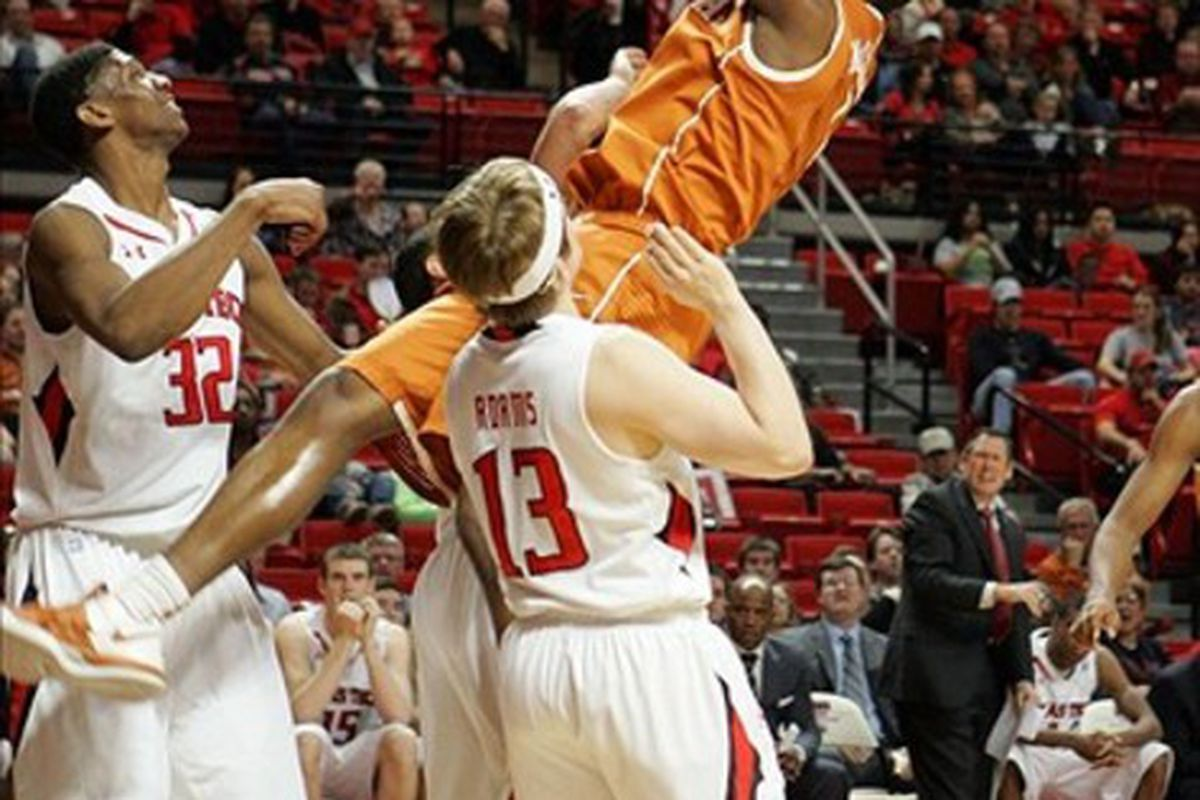 Texas struggled at turning layups into points in their win against Texas Tech.