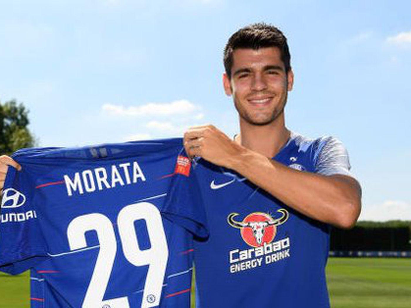 Álvaro Morata changes Chelsea shirt number - We Ain't Got No History