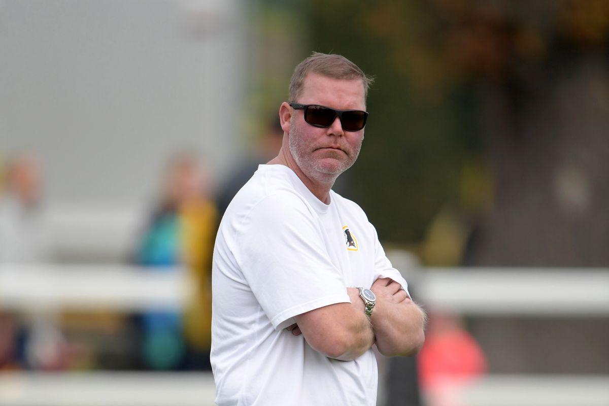 NFL: International Series-Washington Redskins Practice