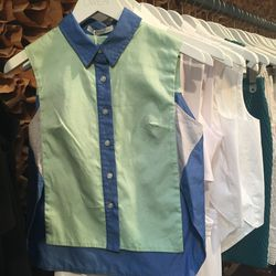 Jonathan Simkhai color-blocked oxford, $135 (originally $225)