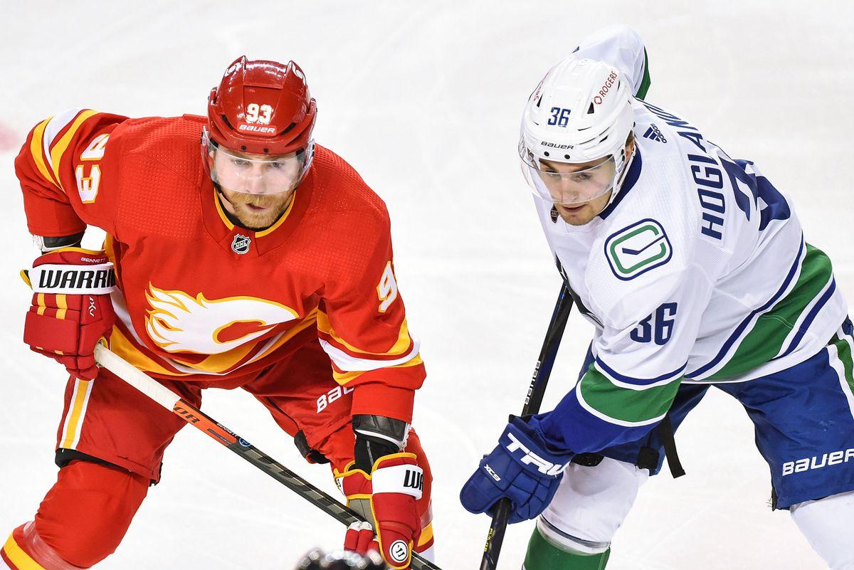 NHL: JAN 18 Canucks at Flames