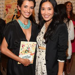 Author Melissa Magsaysay with actress India de Beaufort