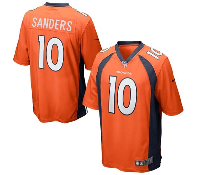 6796f1e9923 That means the NFL is selling Broncos jerseys with outdated collars at the  same price of jerseys with the team's updated look.