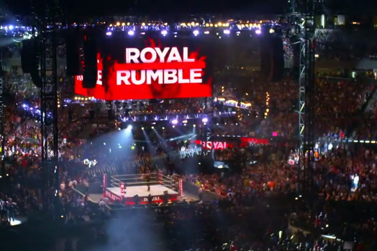 wwe royal rumble 2020 stage