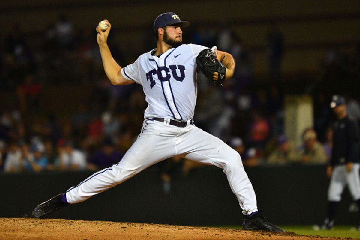Mitchell Traver takes the mound tonight with a chance to send the Frogs to Omaha