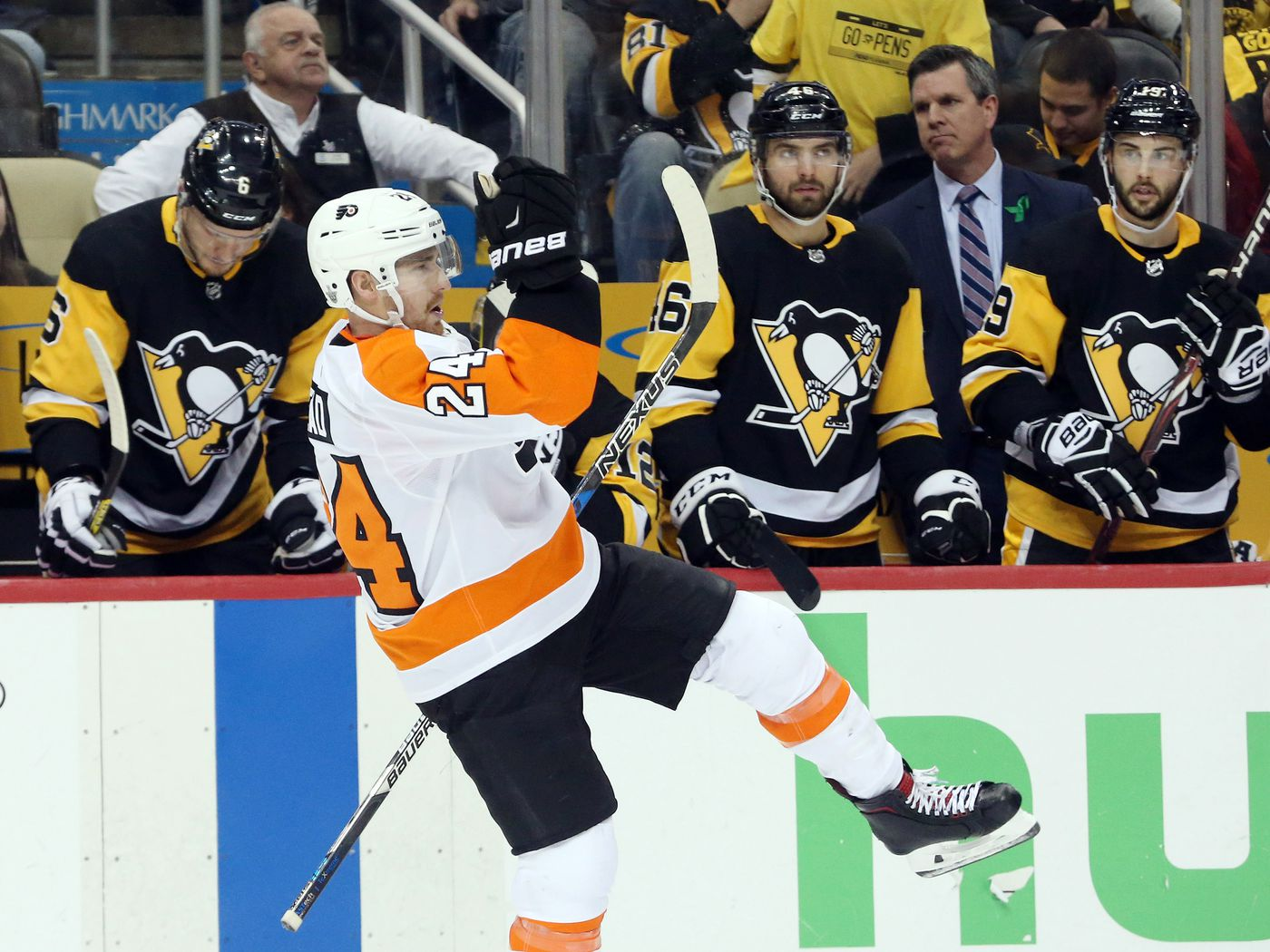 2017 18 Philadelphia Flyers Player Review Matt Read So Long To Our