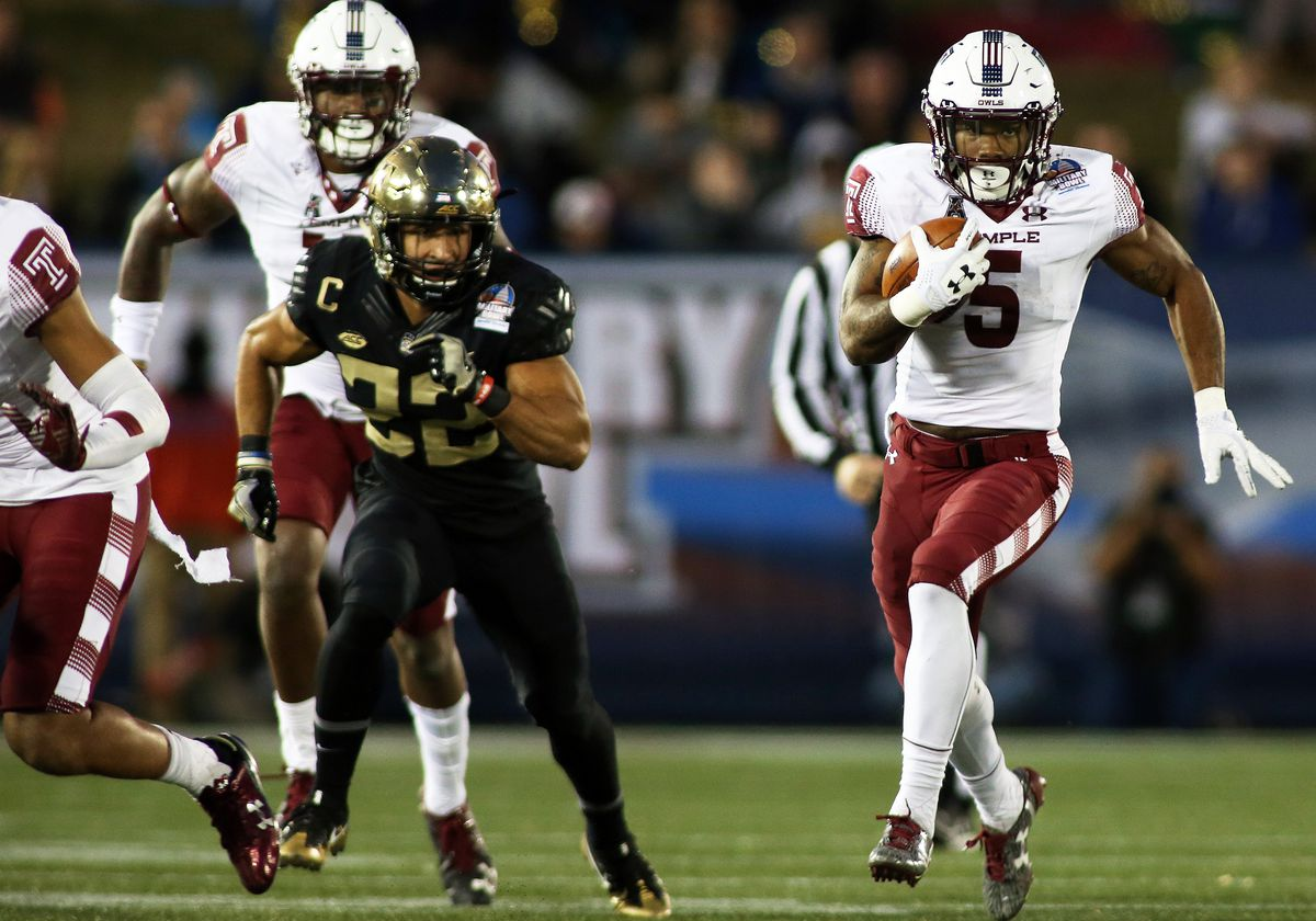 NCAA FOOTBALL: DEC 27 Military Bowl - Temple v Wake Forest