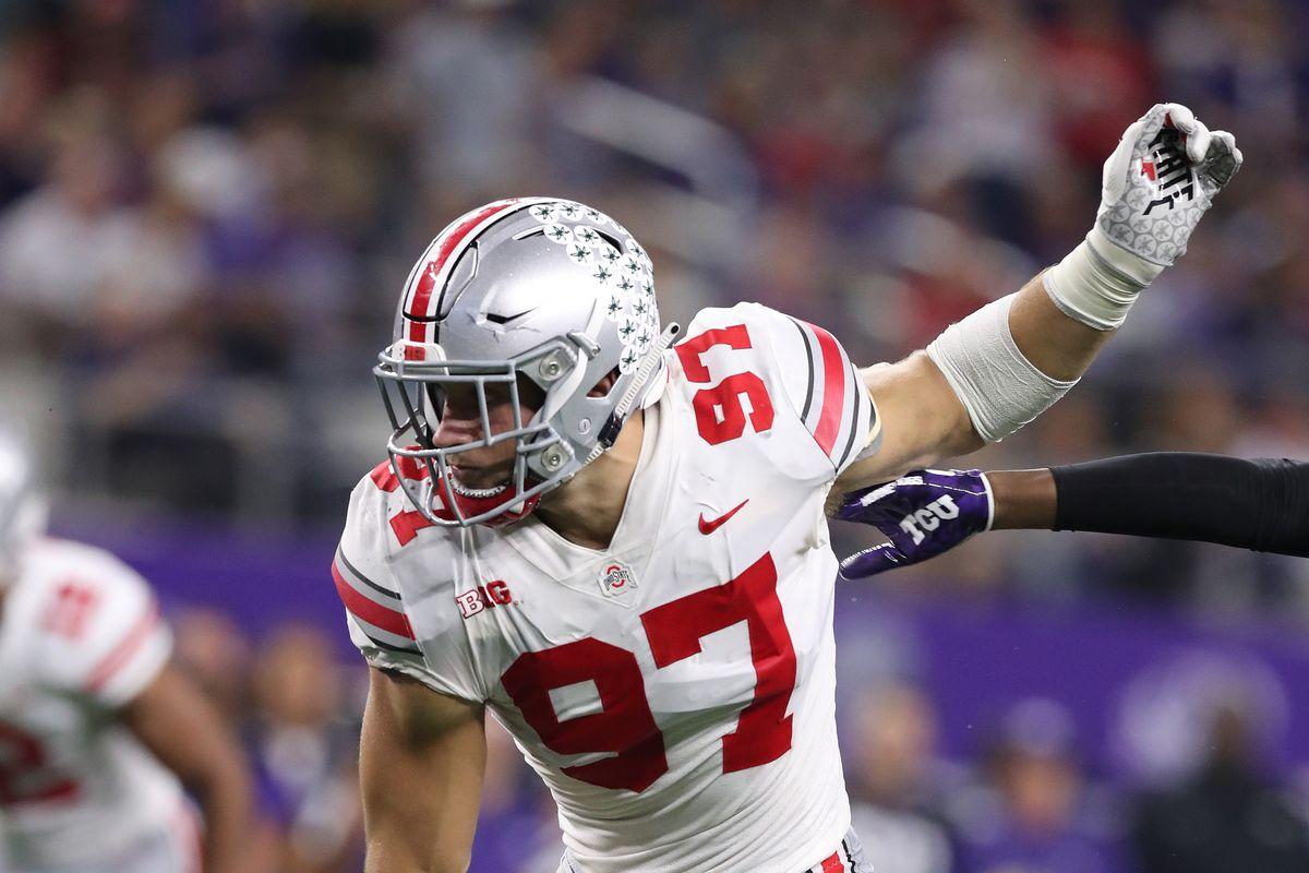 fb0a0e40 NFL Mock Draft 2019: San Francisco 49ers select Nick Bosa - Bleeding ...