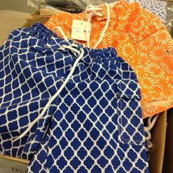 Swim trunks, $30