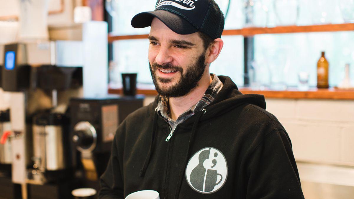 Owner Jason Waller of Waller's Coffee Shop