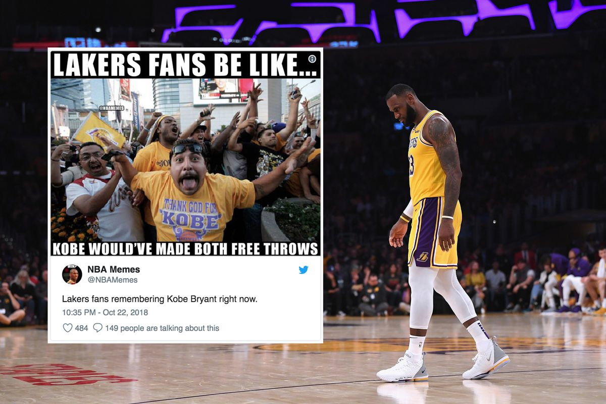 eb093df2795b LeBron James Missed Two Game-Winning Free Throws And Lakers Fans Can t Deal