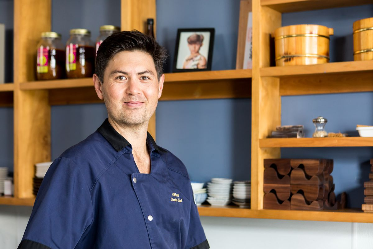 Chef Erik Aplin of Chisai Sushi Club