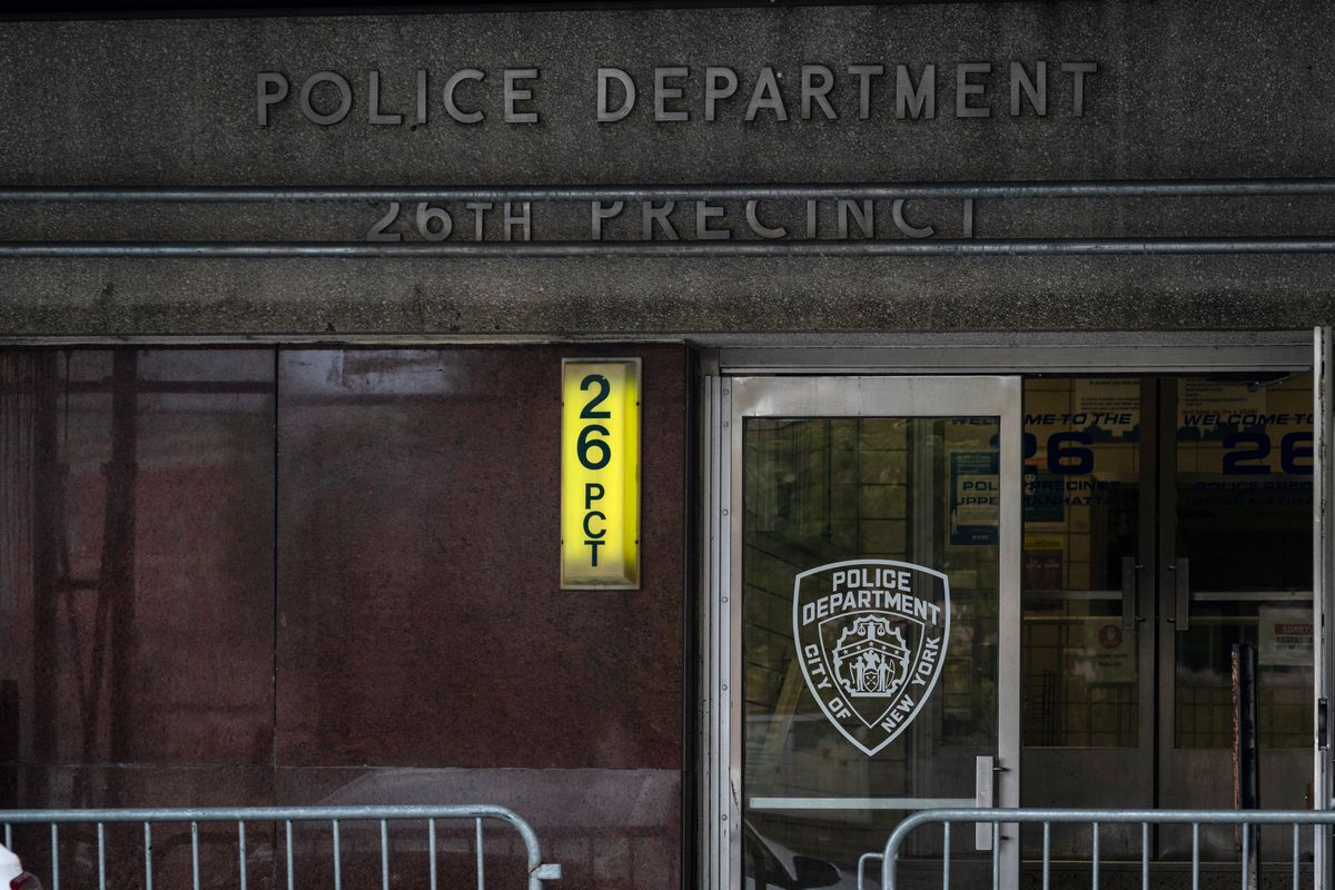The NYPD's 26th Precinct in Harlem, July 24, 2020.