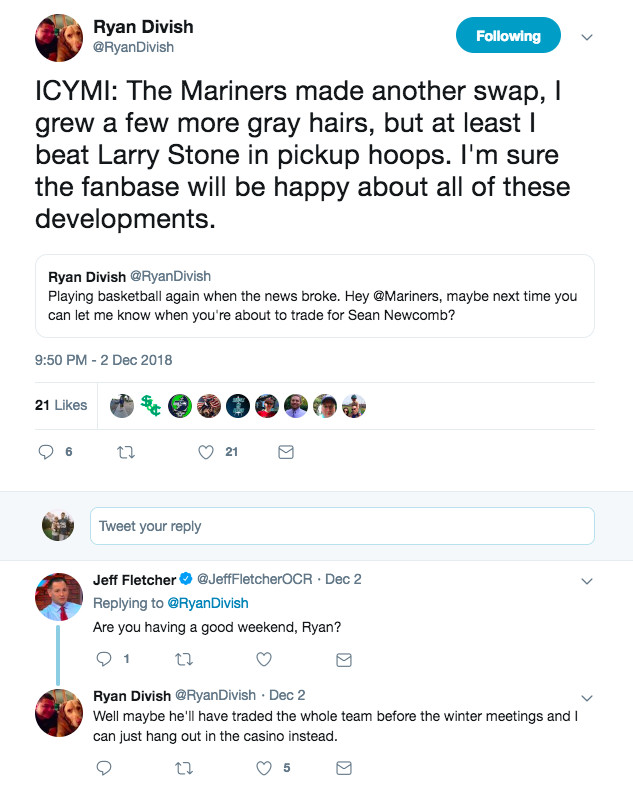 Seattle Mariners Select Your Own Scenario: 2018 Offseason