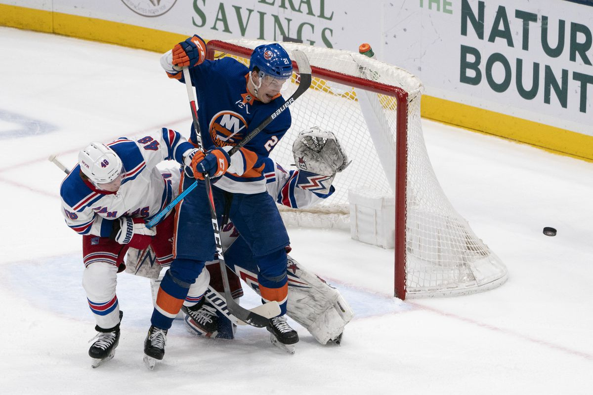 NHL: FEB 25 Rangers at Islanders