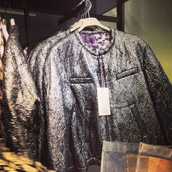 Everyone was flocking to this brocade bomber jacket ($149), including superstar stylist Cher Coulter.