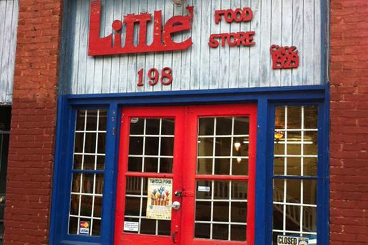 A lot of local chefs like digging into the burgers at Little's Food Store in Cabbagetown.