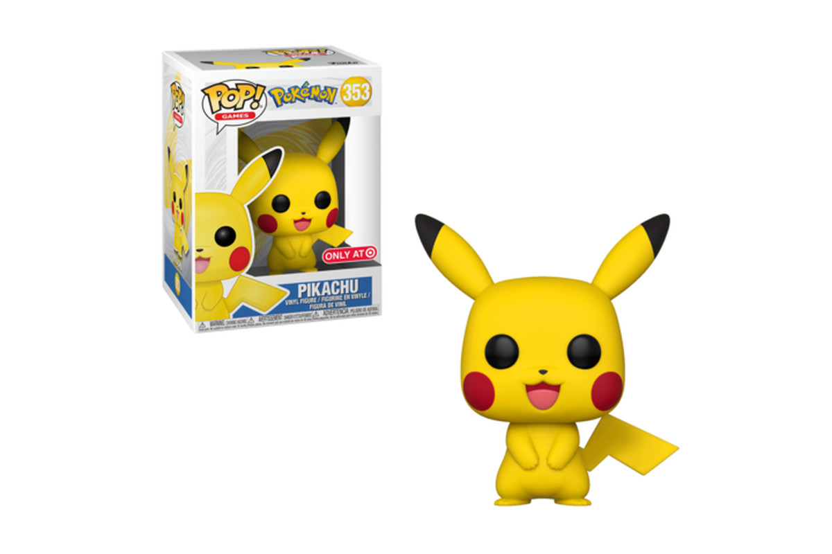 the pikachu funko pop has no light in its eyes and it s distressing