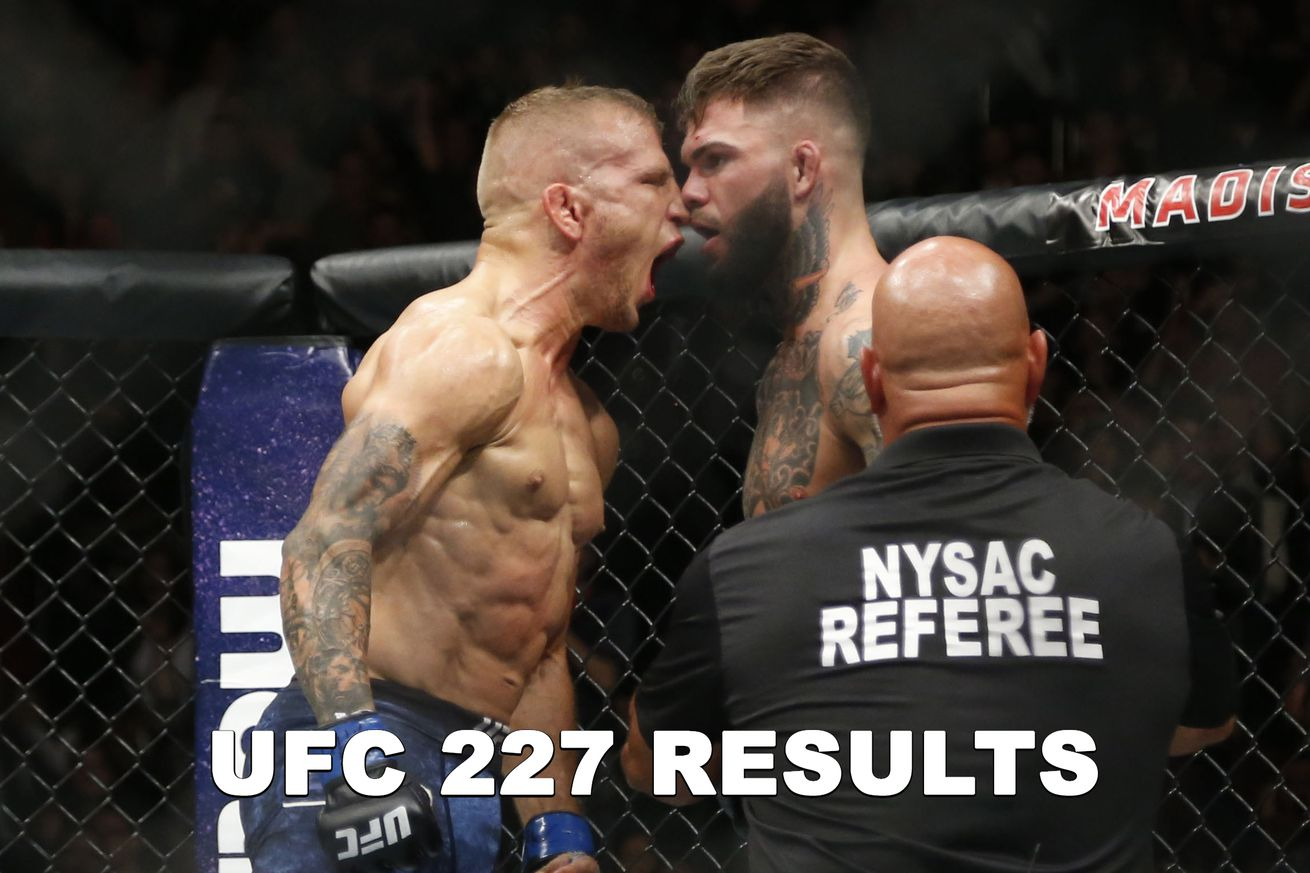UFC 227 Results