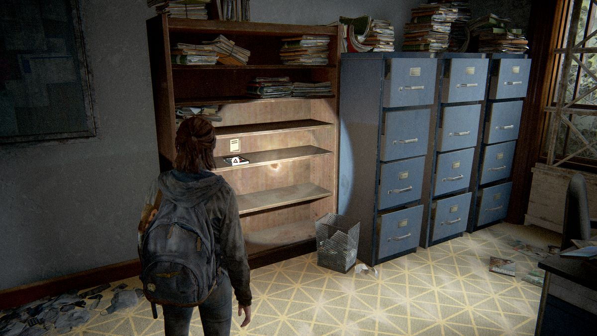 The Last of Us Part 2 crafting training manual location courthouse