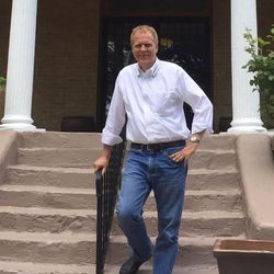 Ron Nielson is managing Libertarian Party presidential candidate Gary Johnson's 2016 campaign from his consulting office on South Temple.