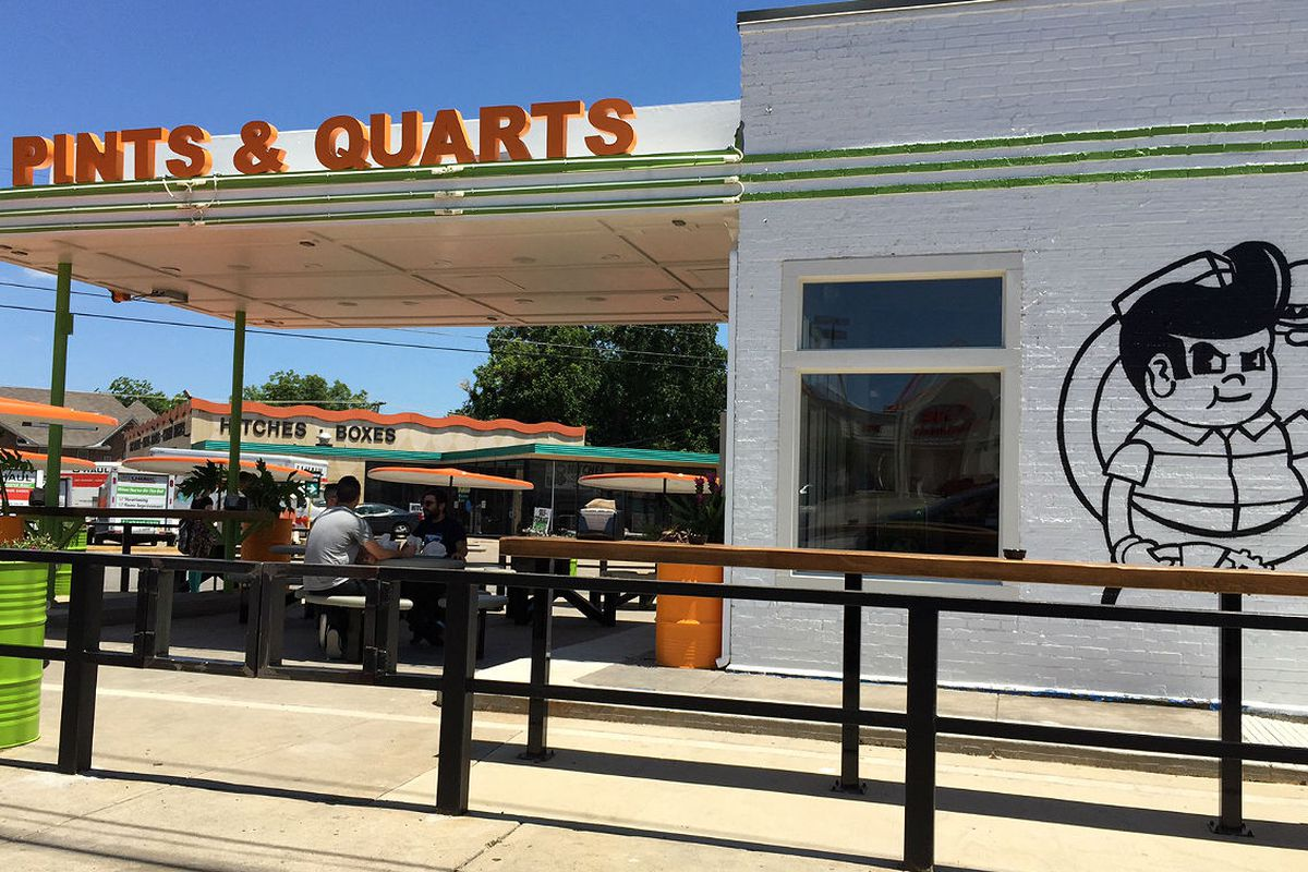 Pints & Quarts Now Slinging Burgers and Booze on Ross ...