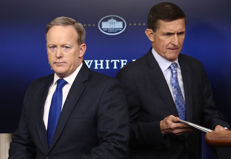 GettyImages_633345408 Sean Spicer's book misleads about 2 events Mueller is investigating