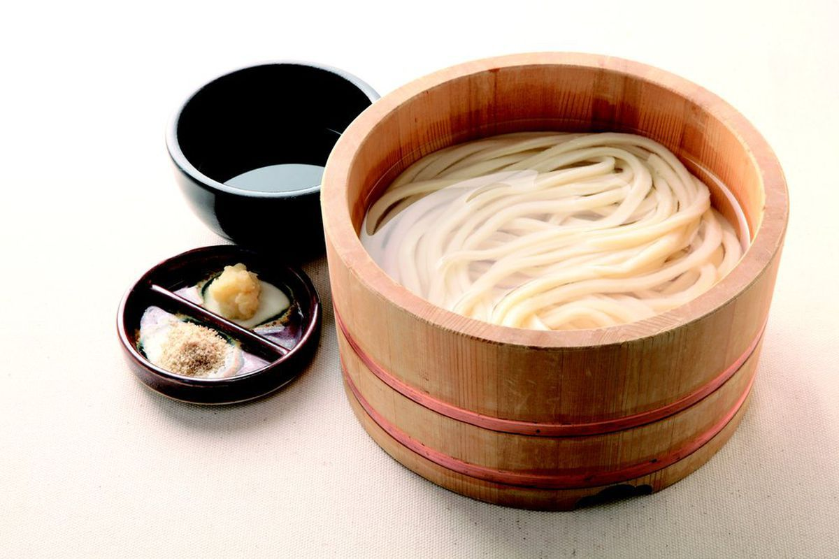 Udon at Marugame Udon, which will open a restaurant in Spitalfields