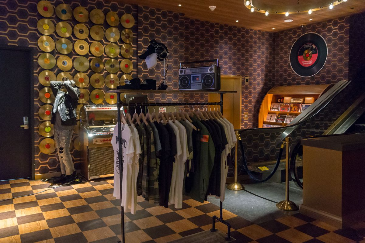 The store at On the Record