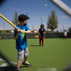Kids area at Sloan Park -