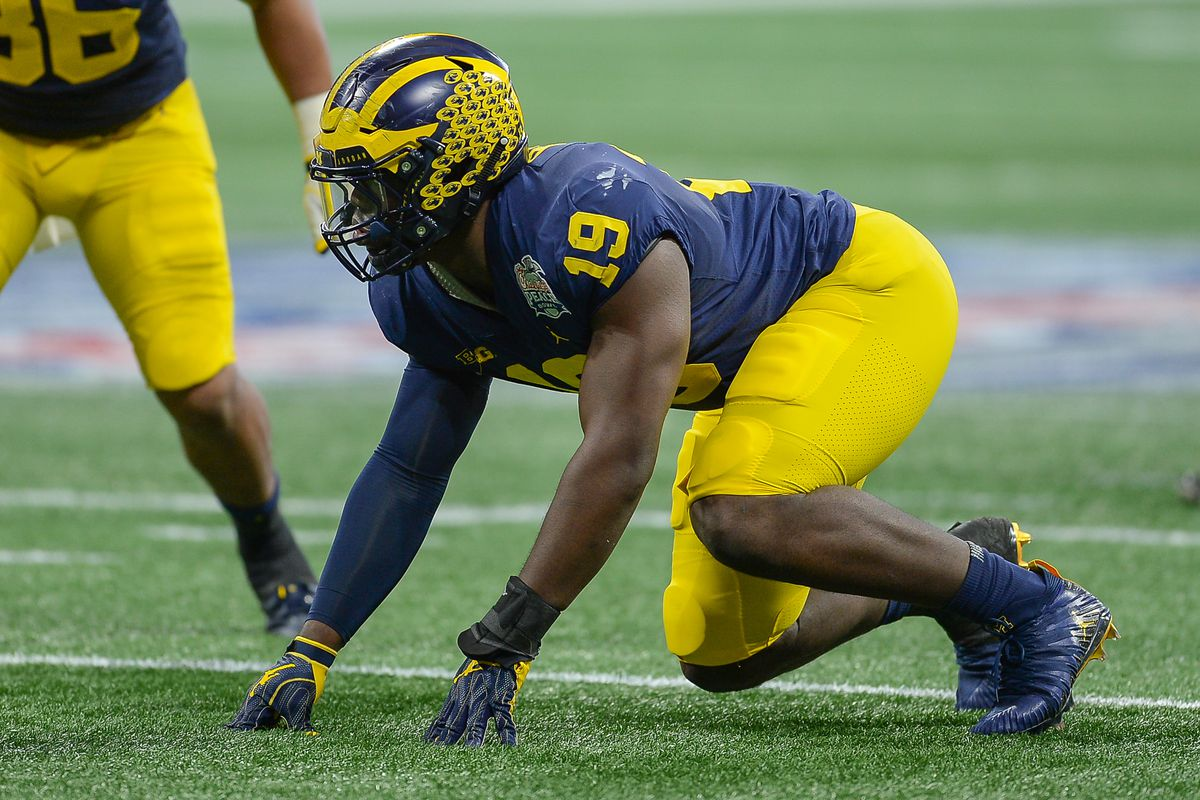 2021 NFL Scouting Report: Michigan Edge Kwity Paye - The Falcoholic