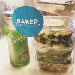 I consult for <strong>Baked by Butterfield</strong> (the healthier little brother of <strong>Butterfield Market</strong> on the UES) and always stop off on my way to work for some healthy snacks.