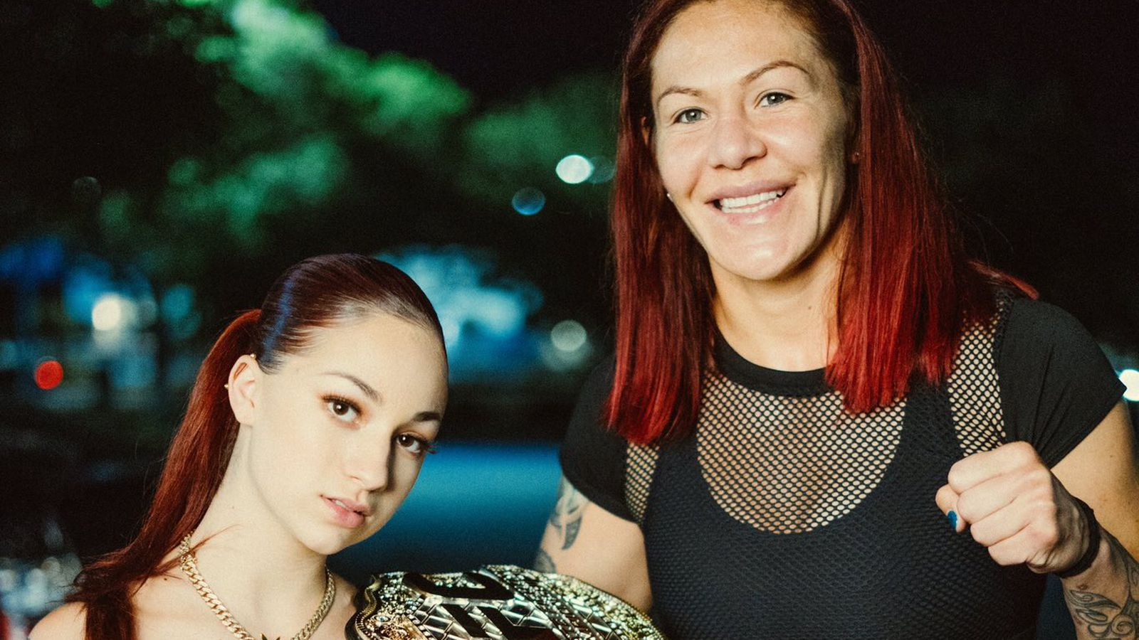 UFC 232?s Cris Cyborg makes cameo in ?Juice? rap video with ?catch me outside? girl