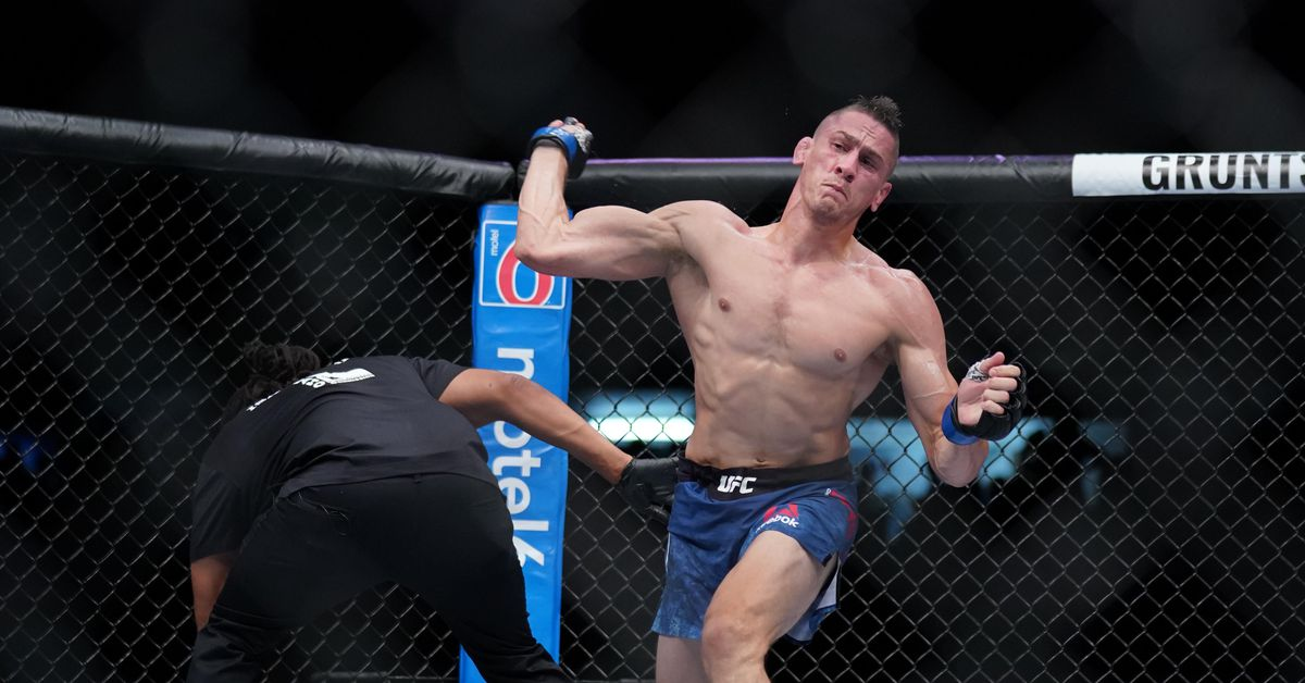 Video: Niko Price?s hammerfist KO from his back is one of the craziest endings in UFC history