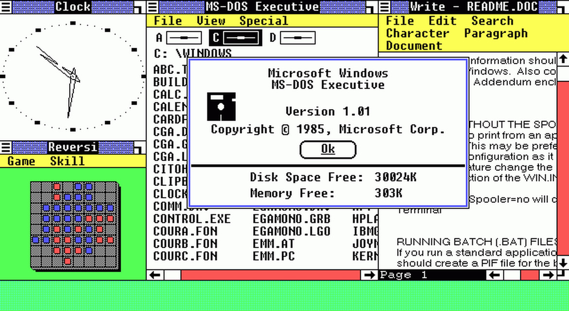 Visual history of Windows