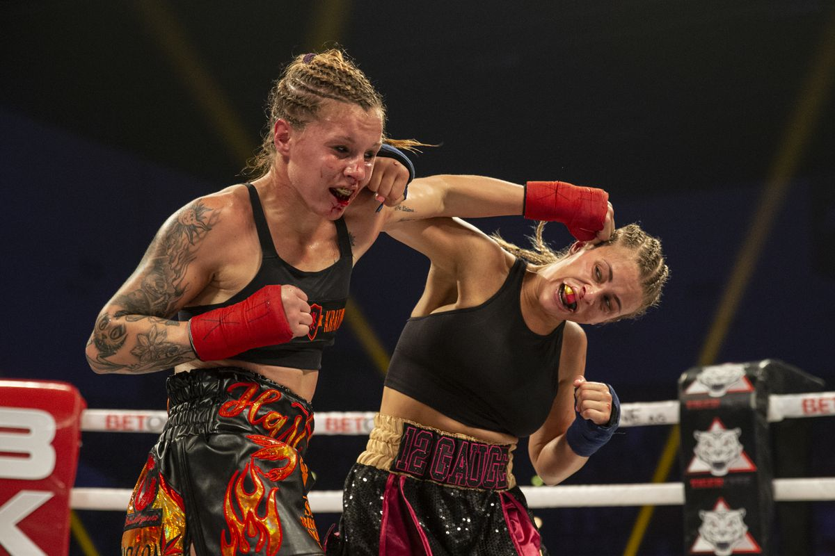 BKFC 16 'KnuckleMania' highlights: Paige VanZant drops decision to Britain Hart in debut - MMAmania.com