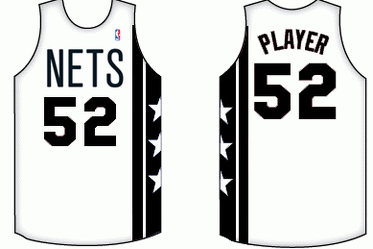newest b46dc 8e969 A peek at the Nets alternate jersey: Short sleeve, black and ...