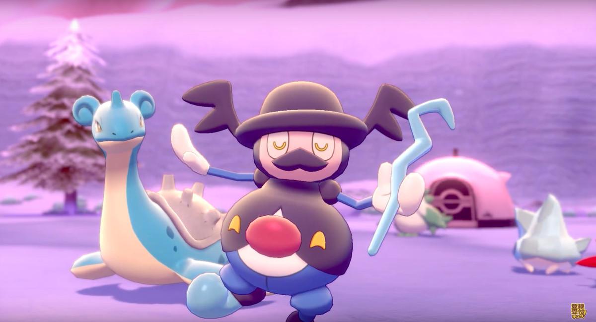 Mr. Mime's evolution dances