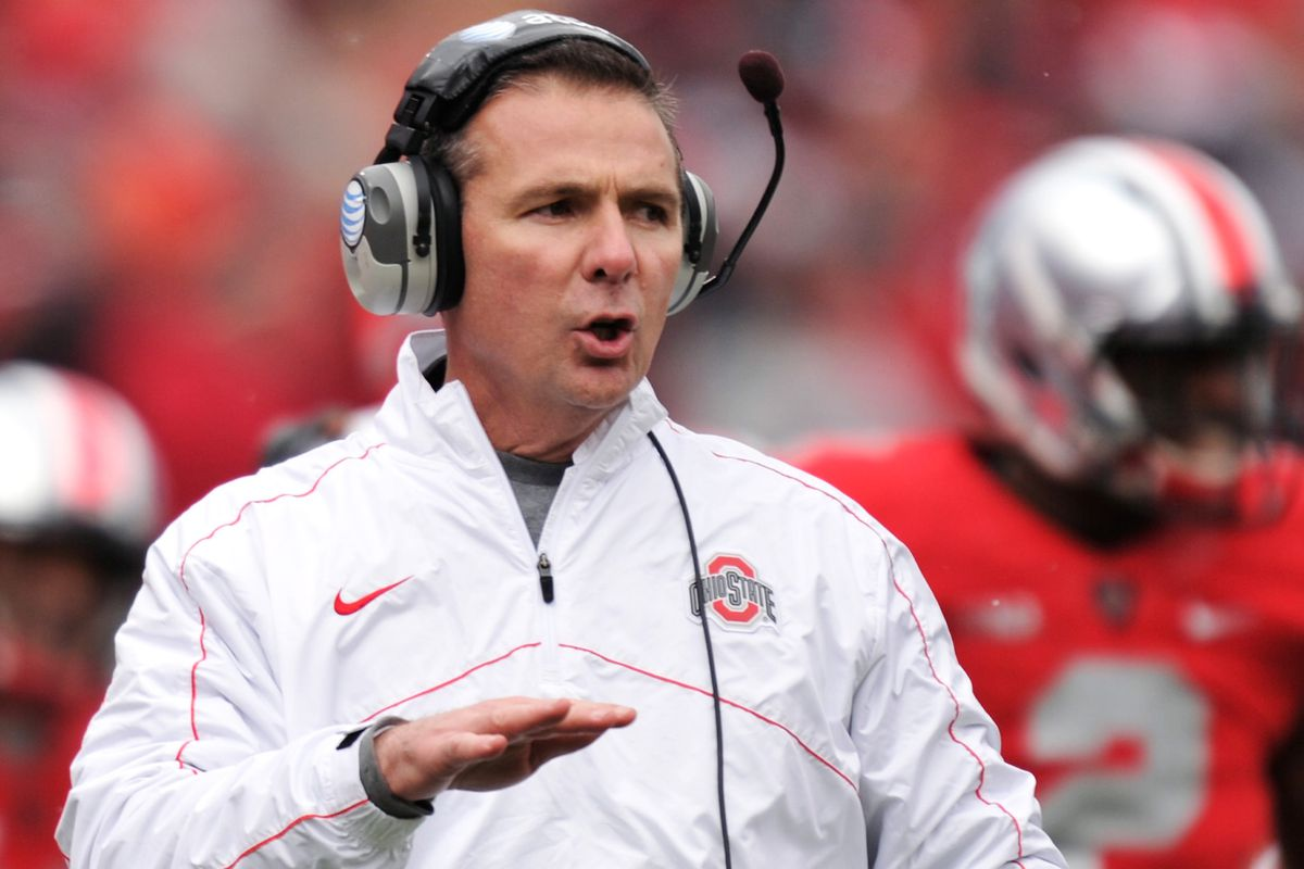 Urban Meyer's Buckeyes move up to a season high 3rd in the AP Top 25 Poll.