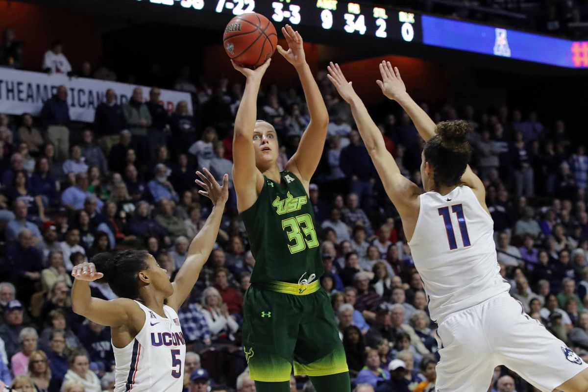 NCAA Womens Basketball: AAC Conference Tournament-USF vs Connecticut