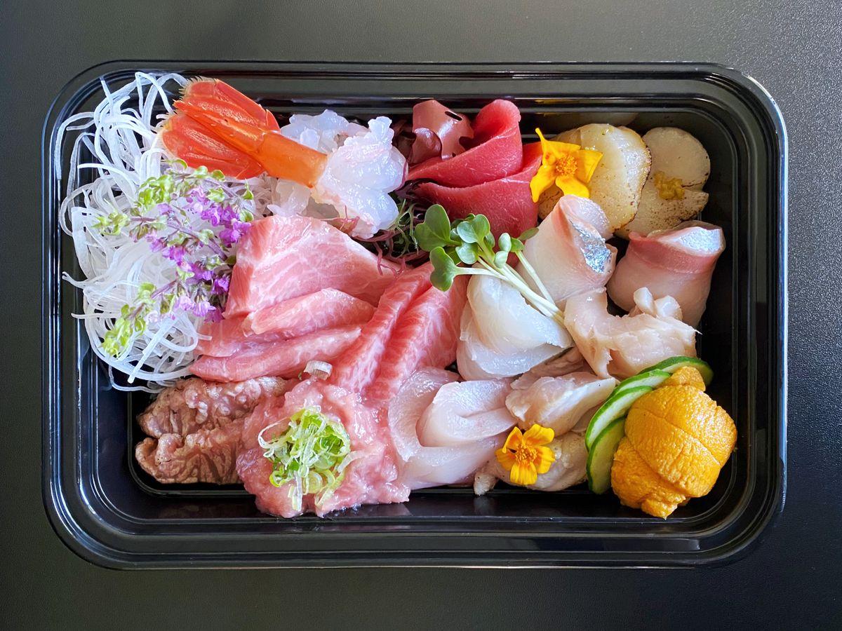Brother's Sushi chirashi